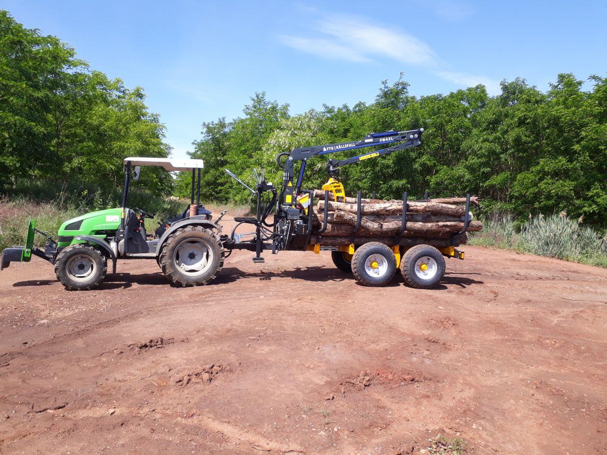 Forstwirtschaftliche Diensleistung